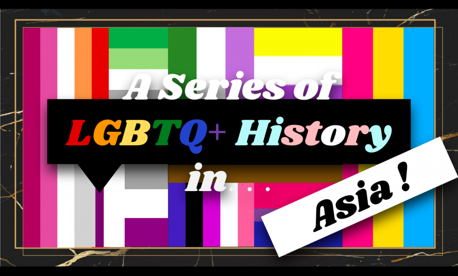 GSA kicks off their new series with a presentation on LGBTQ+ history and culture in Asia.  (Photo by: Alanna Quirk-Aboujaoude (II))