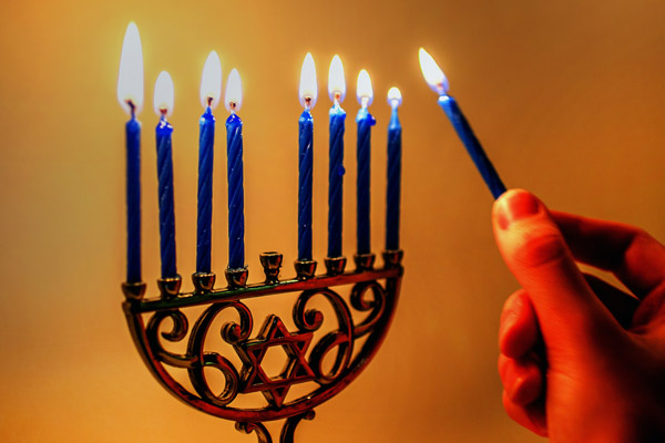 Hanukah is often thought of as the Jewish equivalent of Christmas. (Photo by: Emily Murdoch)