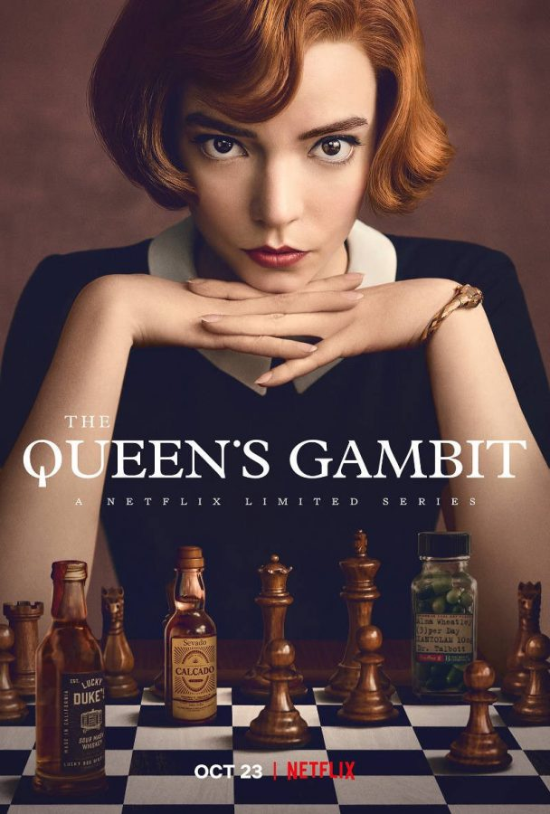 The Queen's Gambit has been on Netflix's Top Ten list since its release date on Oct. 23rd, 2020.