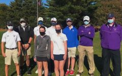 Co-ed varsity golf team wins their matches against Bedford and Waltham.