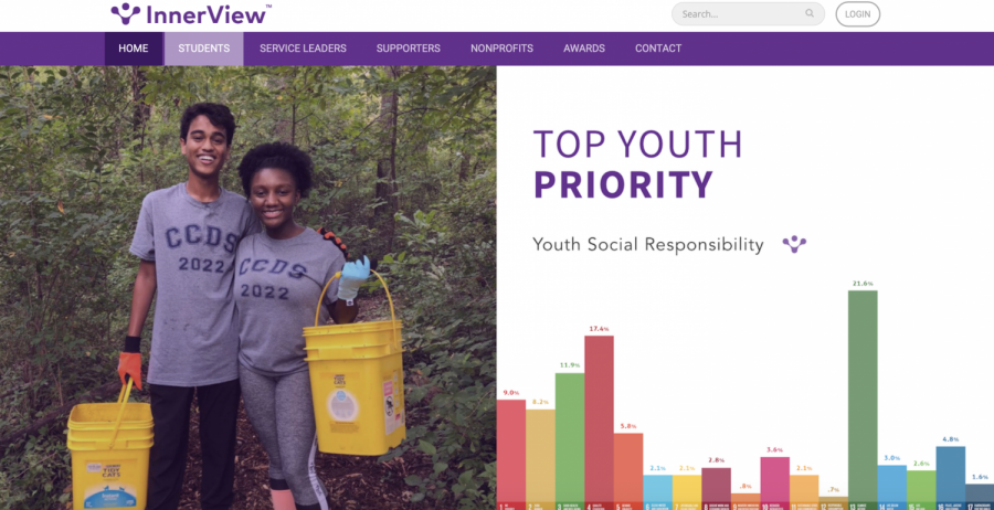 Online volunteering via Innerview is used to provide students chances for civic engagement in the comfort of their homes. (Photo by: Regina Chiem (II))