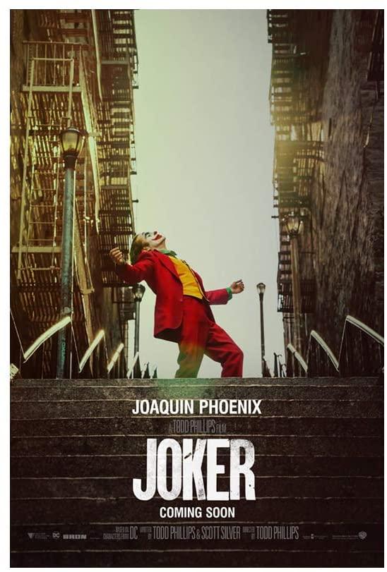 Joker was released in October of 2019 featuring Joaquin Phoenix as Joker.