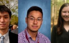 Mr. Chen (left), Mr. Luu (middle), and Ms. Bagdonas (right)! (Source: Steven Chen, Samson Luu, and Kelly Bagdonas)
