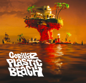 In spite of the environmentalist themes of their 2010 album Plastic Beach, English virtual band Gorillaz were rumored to be using NFTs. (Source: Gorillaz)