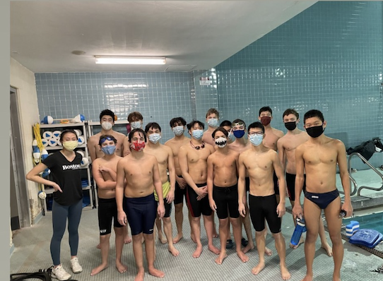 Theres no sinking feeling on this swim team.