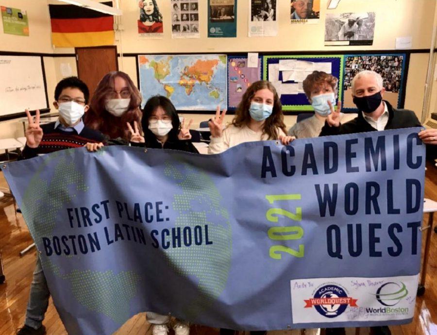 Academic WorldQuest wins first place in Massachusetts. (Source: Rachel Skerritt)